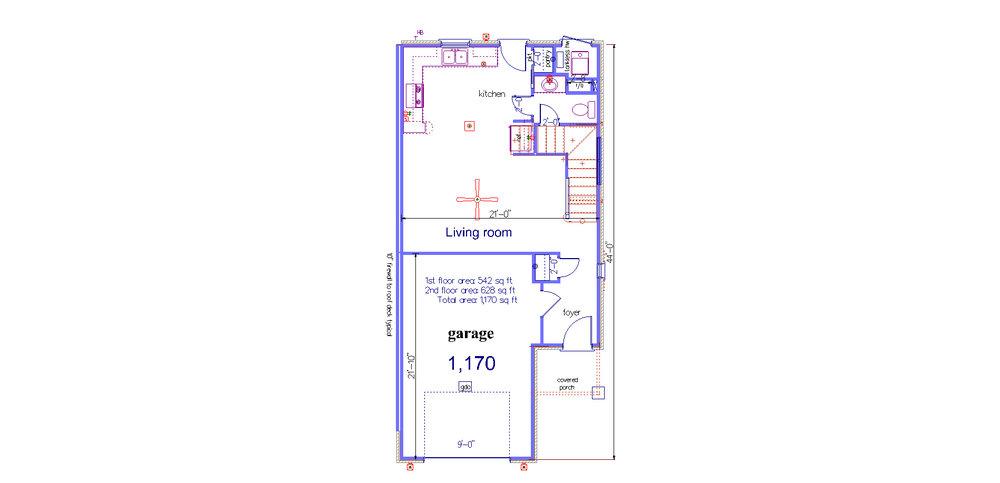 1st floor  3320 apartment 6