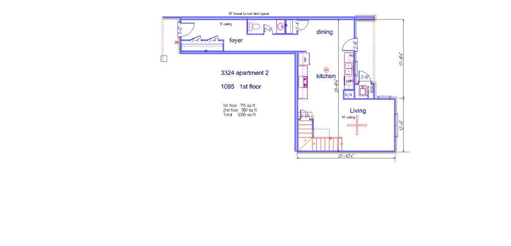 1st floor  3324 # 2