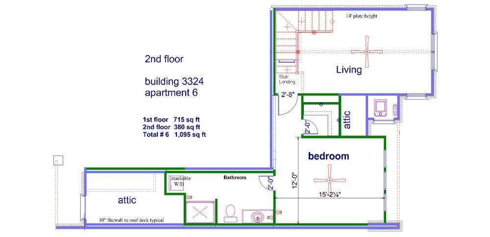 2nd floor  3324 # 6