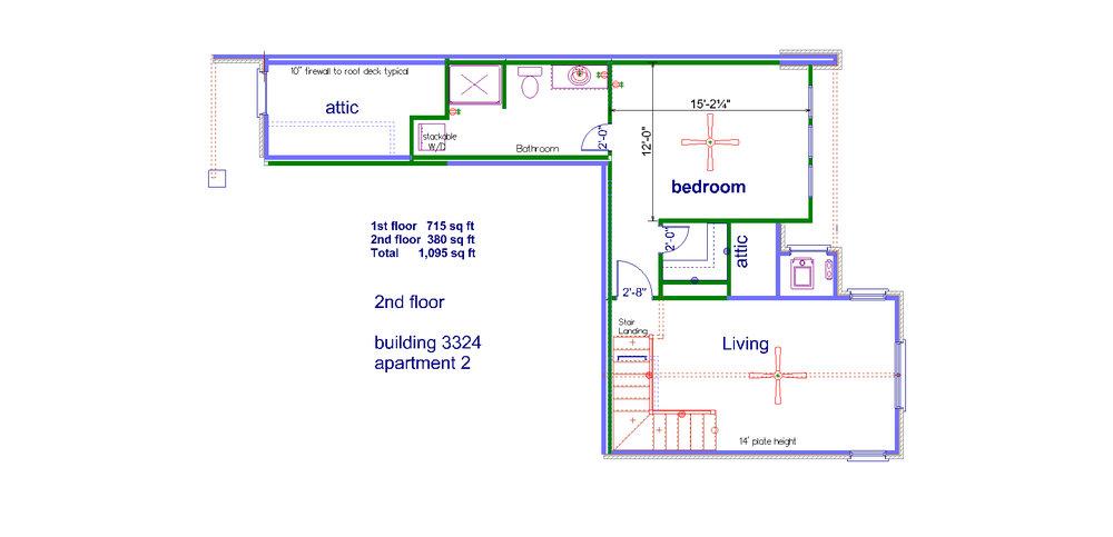 2nd floor  3324 # 2
