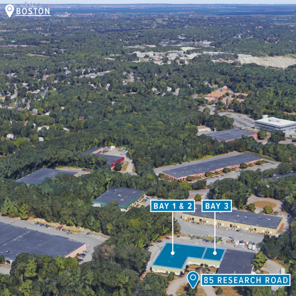 85 RESEARCH ROAD - Office / Warehouse / R&DSouth Shore Park | Hingham, MA