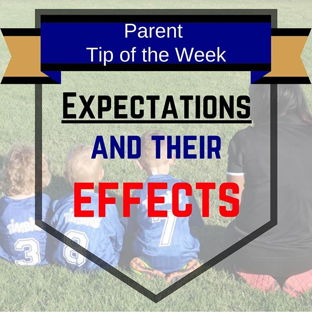Parent Tip of the Week Kids aim to please, and many are naturally hard on themselves. Adding tough parental expectations on top of this can cause them to take on additional stressors and stop enjoying their time at soccer. Support your kids by eliminating your expectations, and allowing them to guide their own experience.  #GSCtips