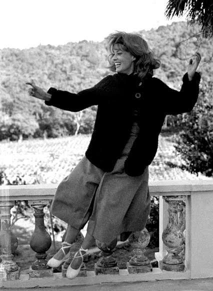 "Jeanne Moreau in ""Jules et Jim"""