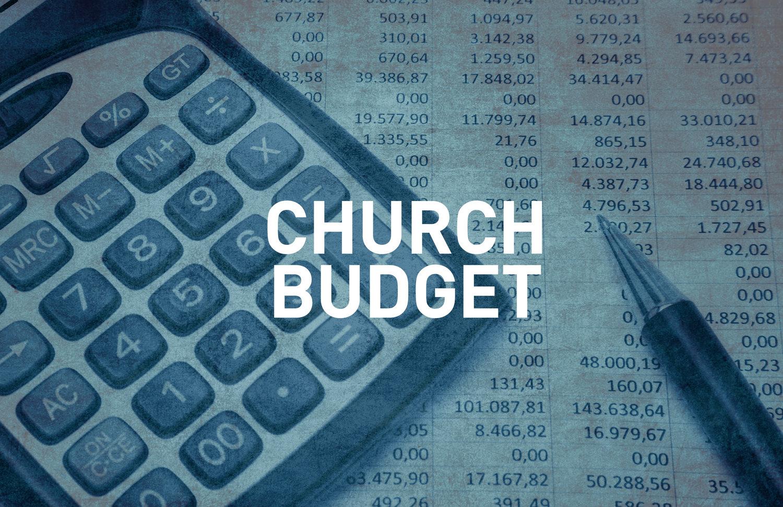 church budgets excel churchbooks