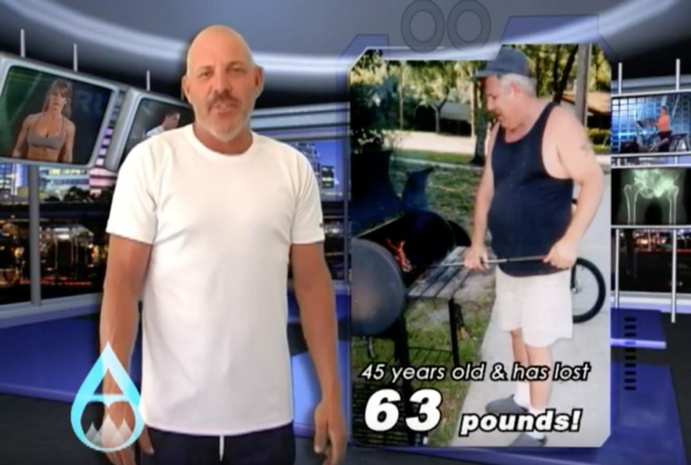 Richard's 63lb transformation -