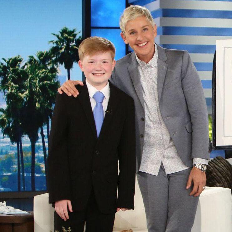 Ellen DeGeneres Show: Ellen Meets a Wonderful Kid Inventor