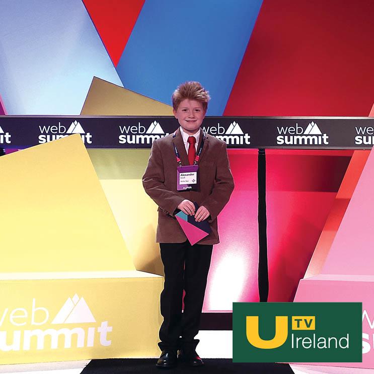 UTV Ireland: Young Inventor At Web Summit