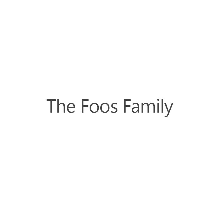 Supporter: The Foos Family