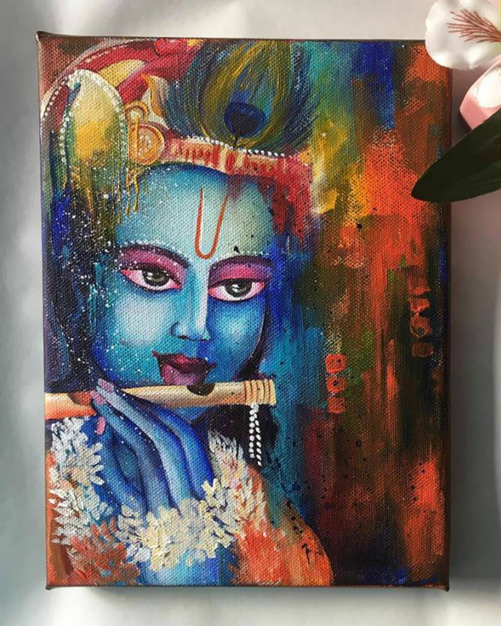 """ Krishna with the flute """