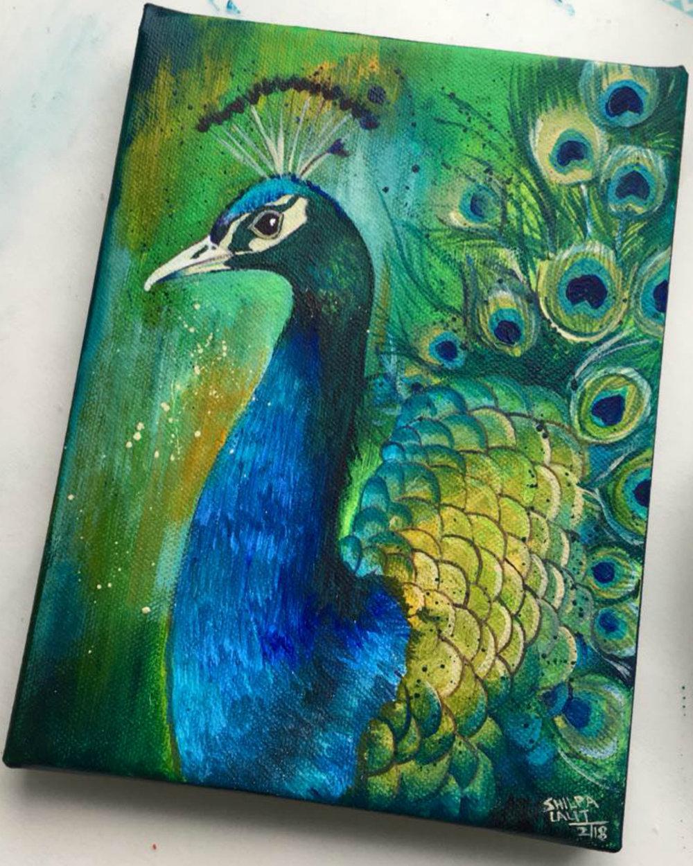 """ Peacock """