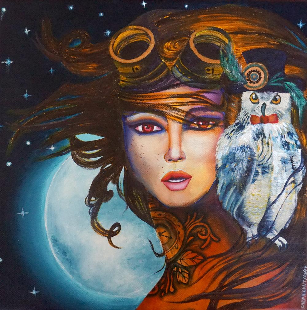 Steampunk goddess of the universe.jpg