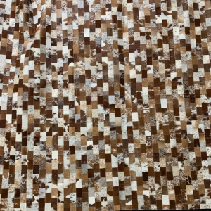 Brown & White Area Rug #24