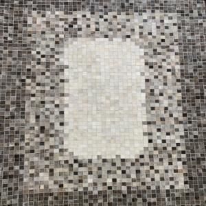 Pixel Grey Area Rug #18