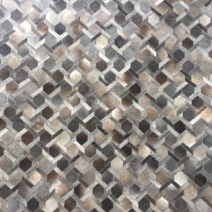 Braided Area Rug Dark Grey #3