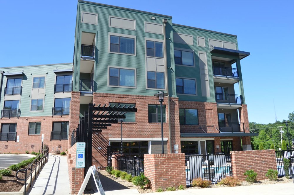 Luxury living in Wesley Heights, the Asbury Flats.