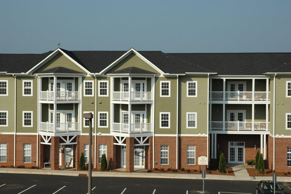Retirement Community in Pineville, North Carolina.