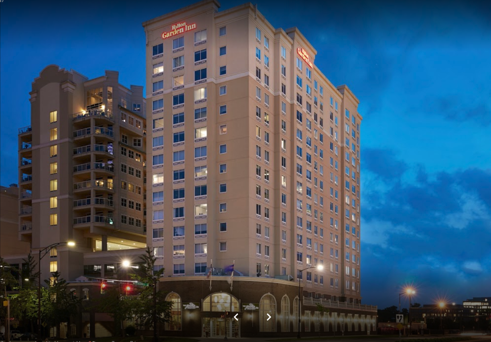 The  Hilton Garden Inn Uptown Charlotte  hotel is located near the convention center in Uptown Charlotte.