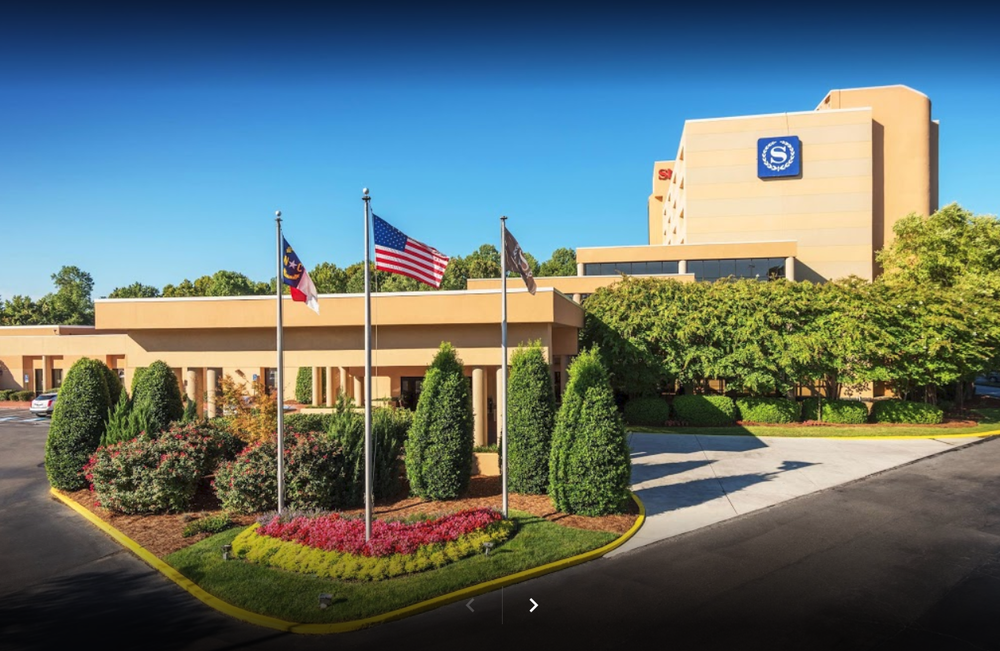 Located near Charlotte Douglas International Airport (CLT), the Sheraton Charlotte Airport Hotel offers 222 guest rooms.