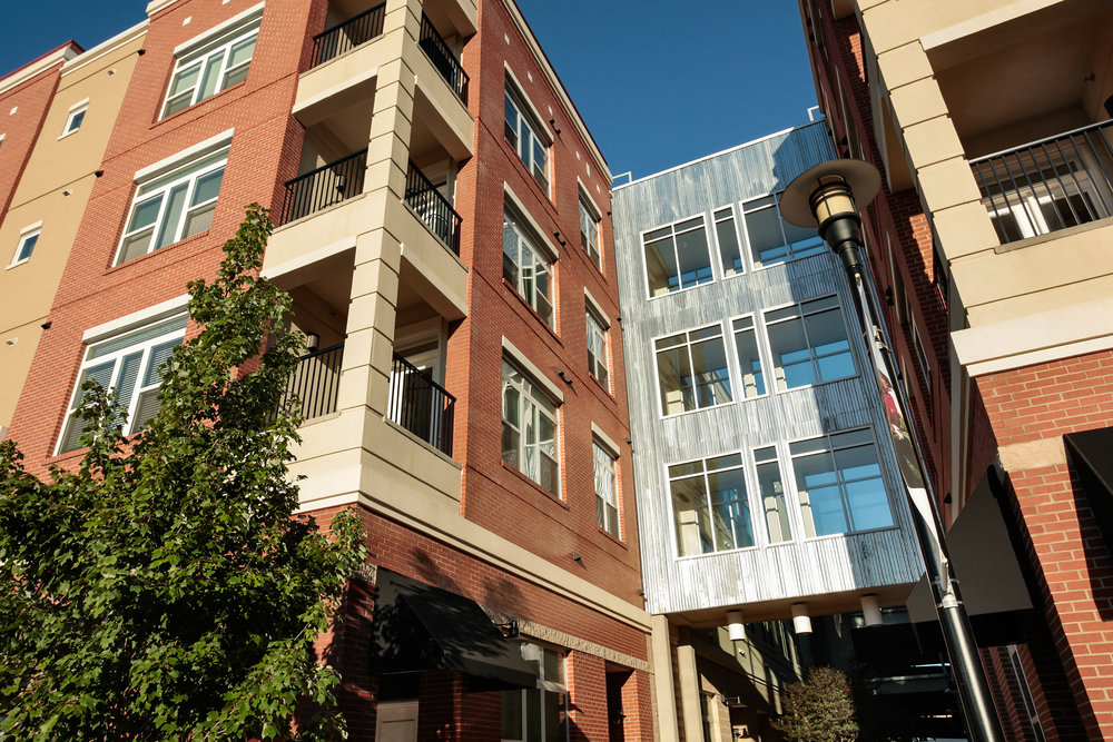 Social living in an apartment community in Southwest Charlotte, the Ayrsley Lofts.