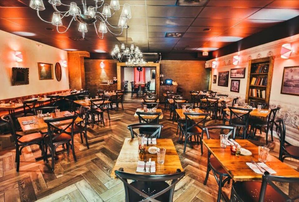 Stagioni Restaurant serves a seasonal menu highlighting modern takes on classic Italian dishes & a bar.