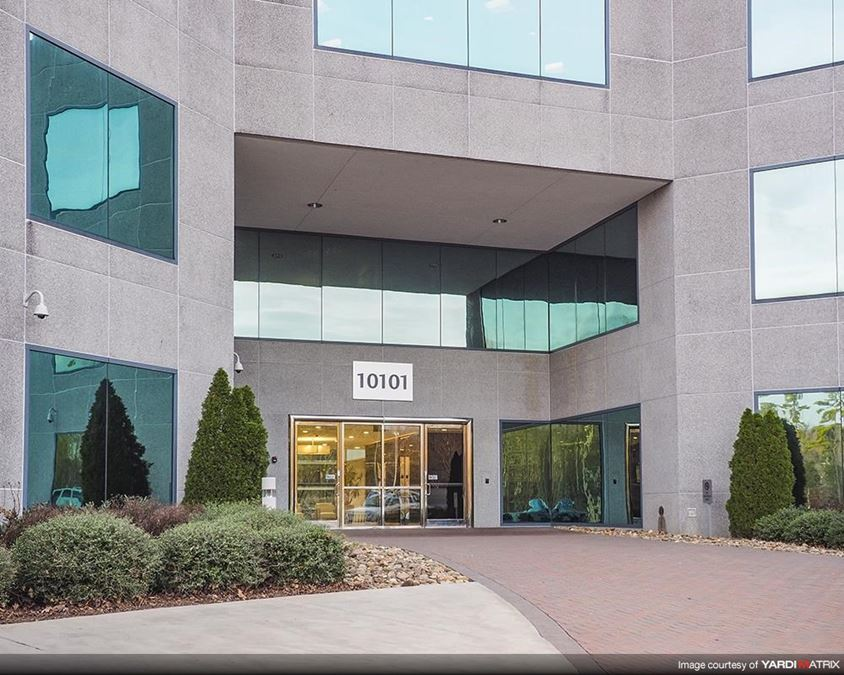 Business center in Charlotte, North Carolina.