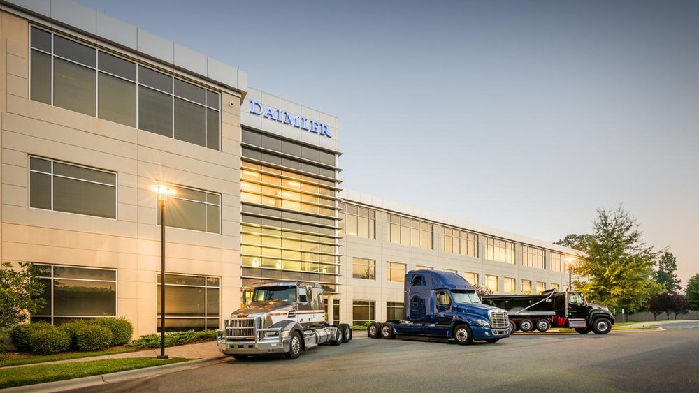 Daimler Trucks is an automotive industry manufacturer of commercial vehicles.