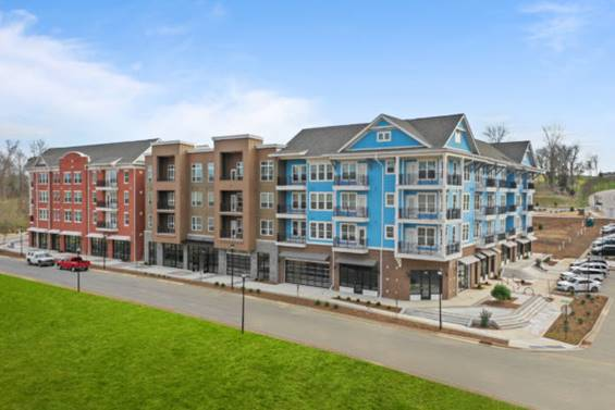 Apartments coming soon to the Riverwalk Community in Rock Hill, South Carolina.
