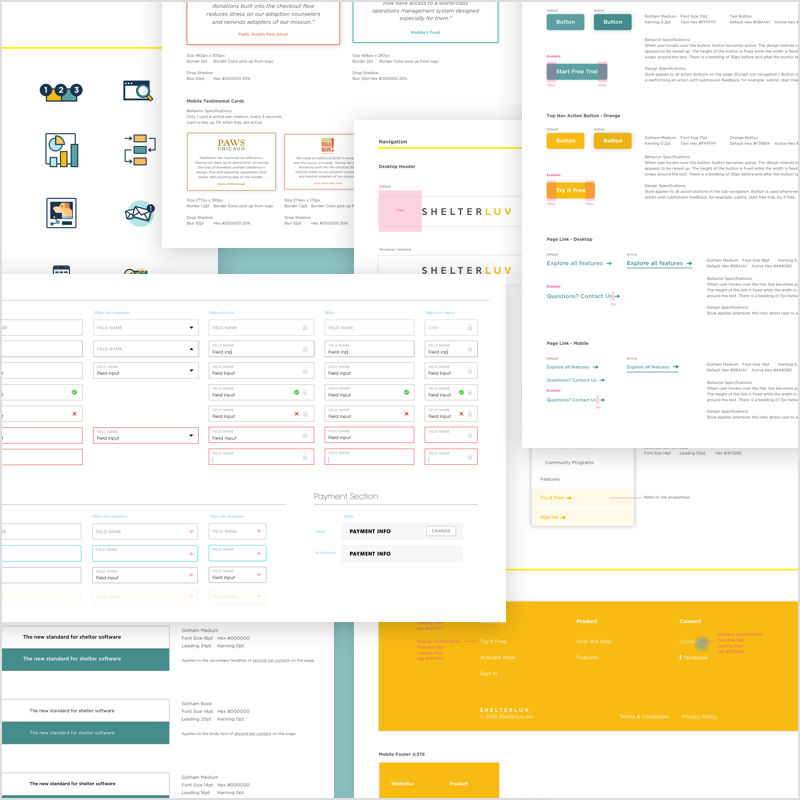 Style Guide   Detailed visual guideline for reusable components across all platforms   Learn More →