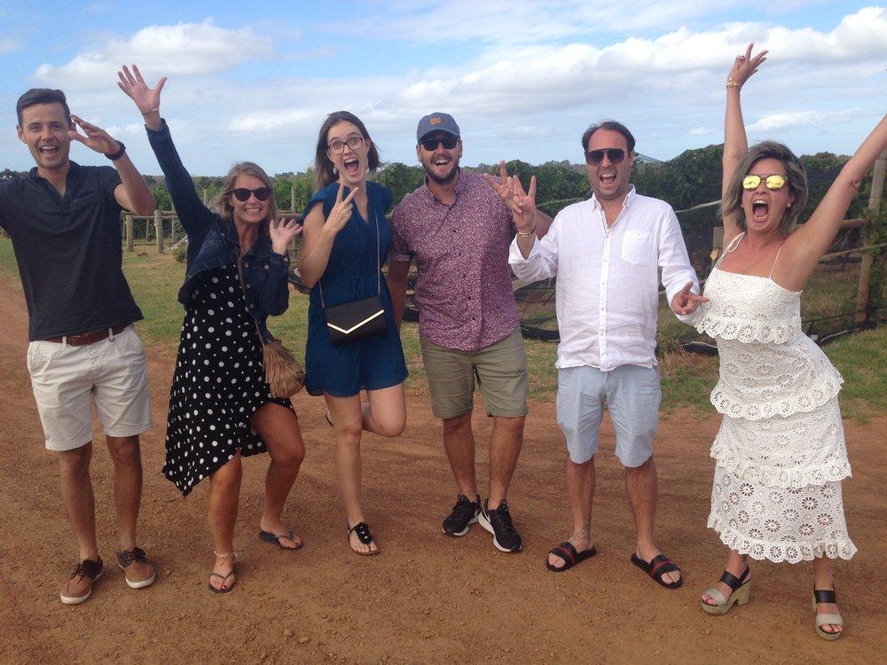 VERY HAPPY GROUP AT CHERUBINO.JPG