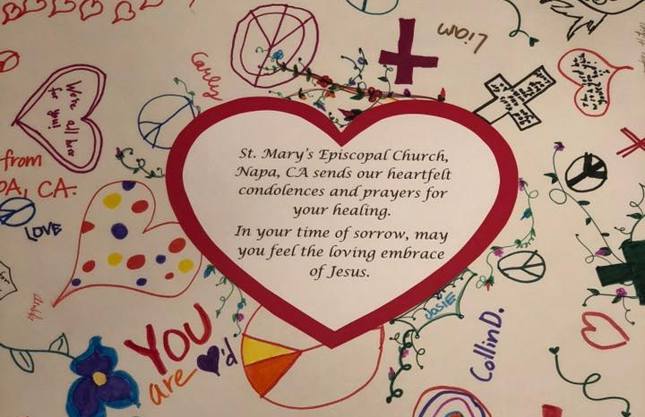 Youth group card to St Mary Magdelene Youth Group Coral Springs Florida after Parkland shooting .jpg