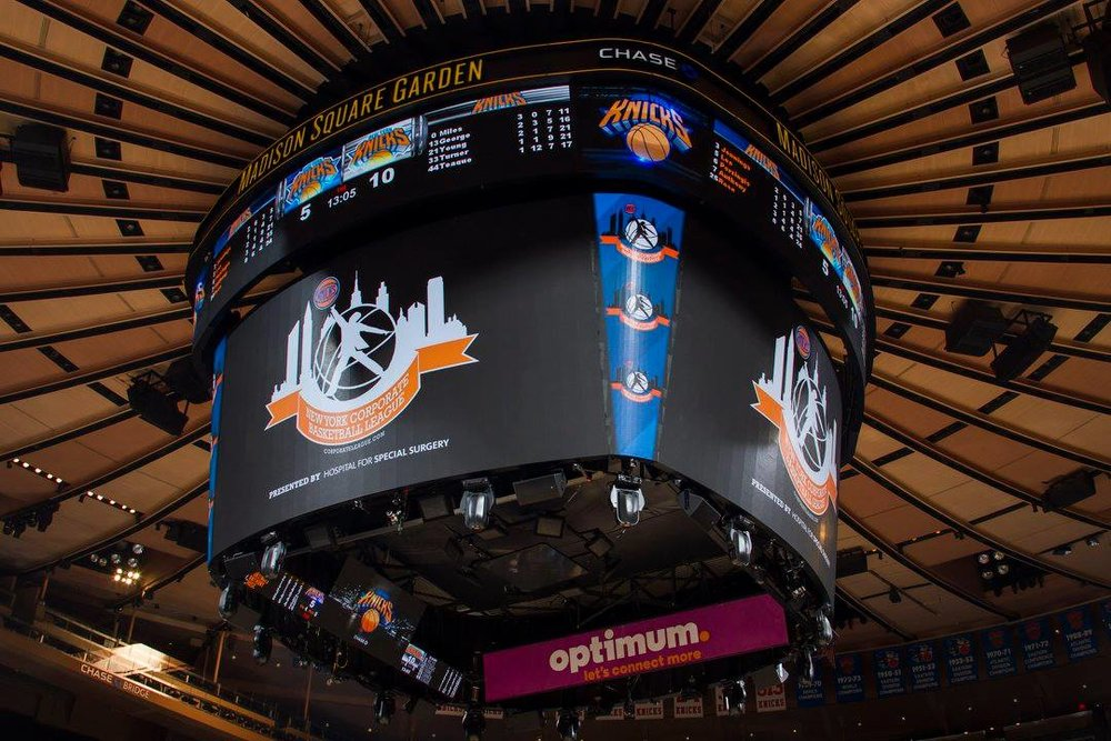 BASKETBALL LEAGUES - InterLeague Finals at Madison Square Garden