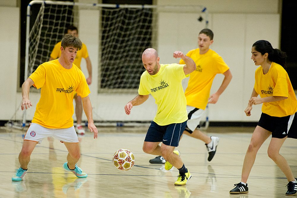 INDOOR SOCCER LEAGUES -