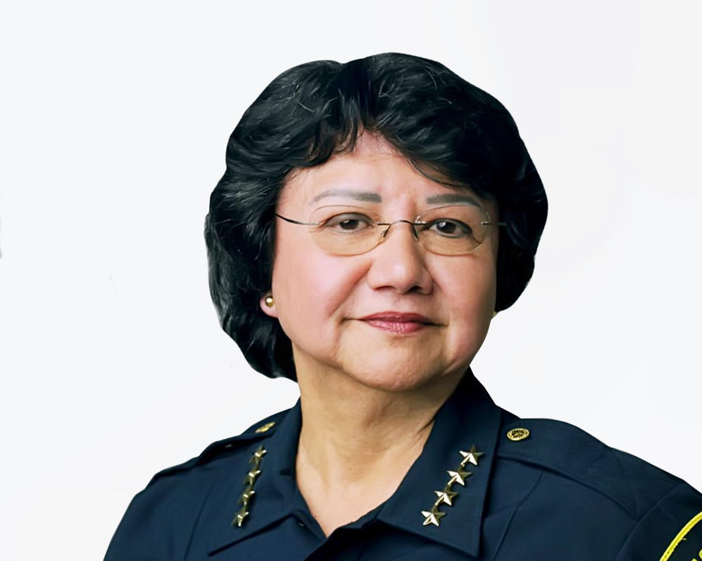 LUPE VALDEZ (D) - Former Dallas County Sheriff