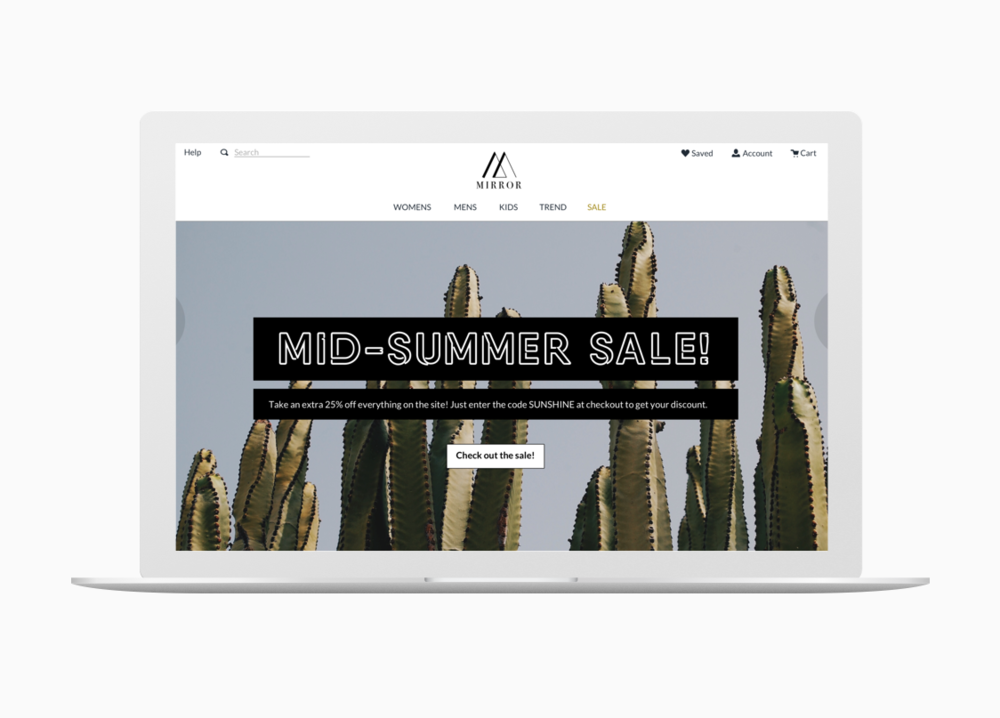 Mirror Clothing Store - with over 400 brick and mortar stores around the world, Mirror Clothing Store sought help to expand to the online retail industry.Read More →