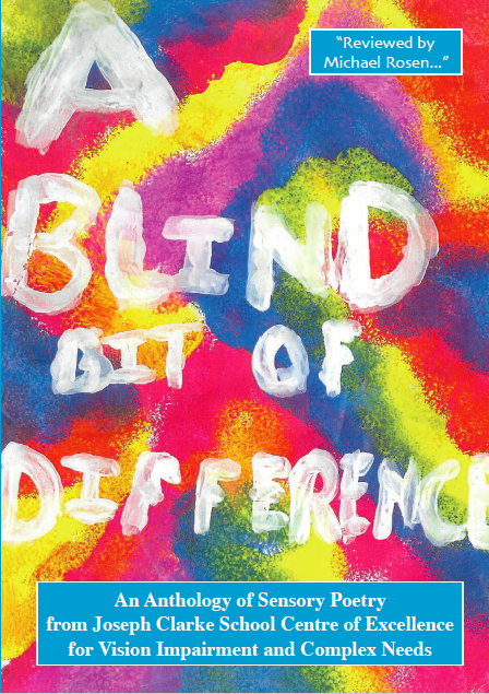 Image description: Photograph of the A Blind Bit of Difference Book