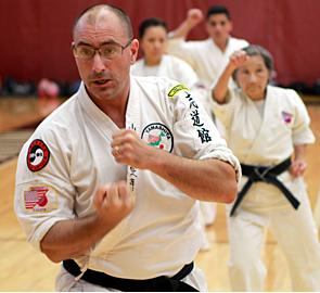 Brian Bengtsson, Shidoin, 3rd Dan Karate, Shodan Kobudo, Shodan Hojutsu