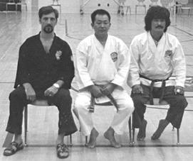 Senseis Ninios, Nakazato, Yamashita, circa 1970's