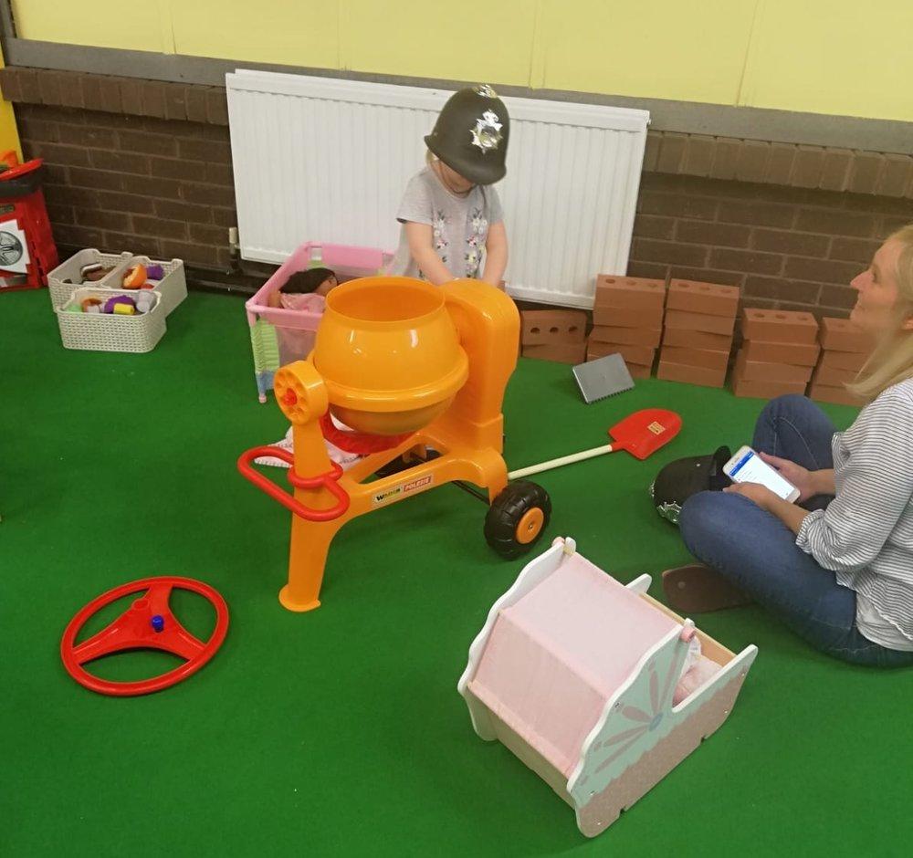 Role Play - Home CornerSupermarketConstruction Area