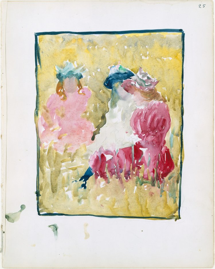 Three+Girls+Sitting+on+the+Grass+by+Maurice+Brazil+Prendergast.jpg