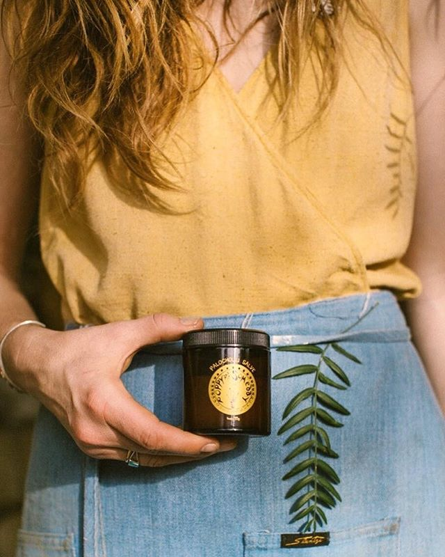 New to the shop ✨ Laurel Canyon's @poppyandsomeday, a lovingly handcrafted line of organic body care 🙌 We're especially loving this high desert winter essential, the Palochouli Salve. Made from patchouli infused in olive oil, shea butter, mango butter, and beeswax, with essential oils of patchouli, palo santo, clary sage, and piñon pine, this salve helps to soothe and heal dry irritated skin, with the added benefit of its harmonious and hypnotic blend of sacred woodsy herbs. Relax as it calms your mind and restores your nervous system, while sealing moisture in the skin ✨ • #apothecary #naturalbeauty #organicskincare #patchouli #palosanto #woodsy #herbal #plantmagic #californiamade #laurelcanyon