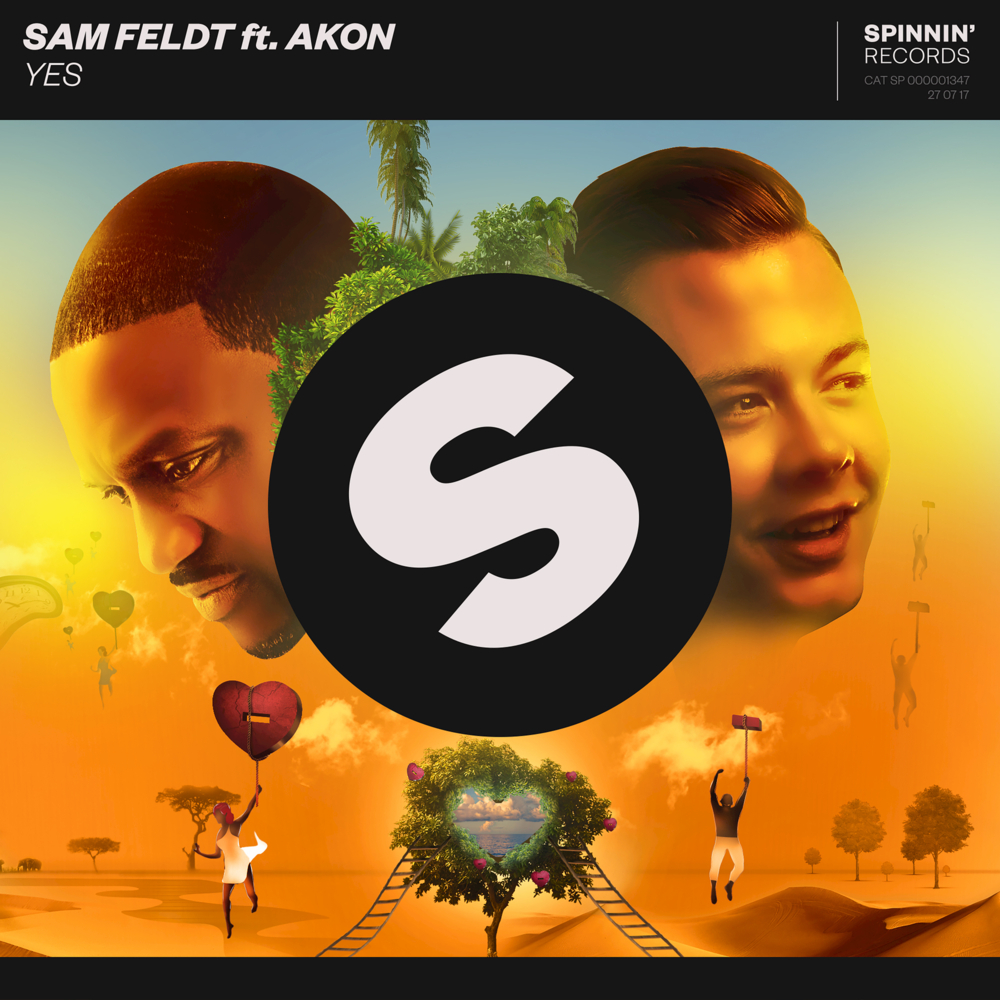"""SAM FELDT FT AKON–""""Yes"""""""