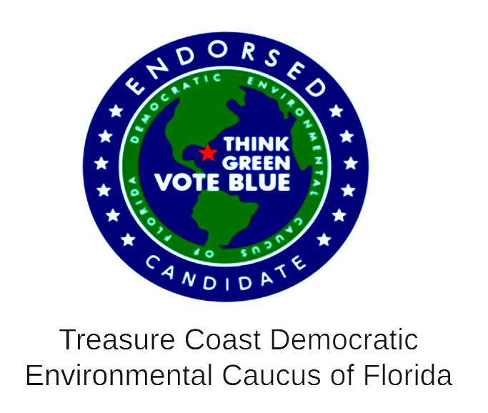 Treasure Coast Democratic Environmental Caucus of Florida Endorsement Seal.png