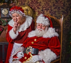 Santa's Sleeping -