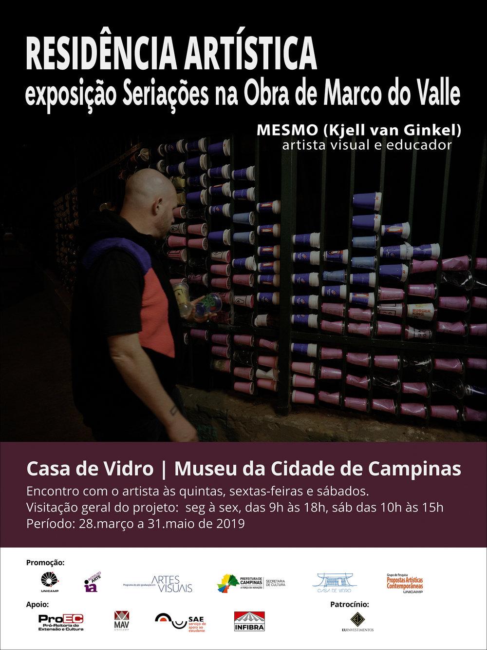 Artist Residence - Seriações na Obra de Marco do Valle (2019)
