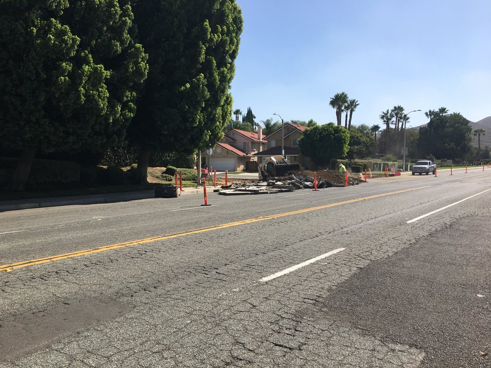 EBS removing existing concrete spandrels