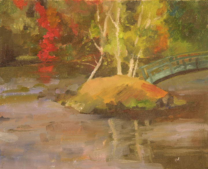 "Vermont Bridge Oil 8"" x 10"""