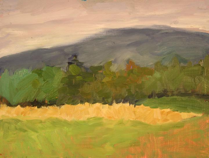 """Vermont Field Oil 9"""" x 12"""""""