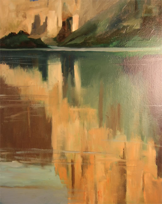 "Colorado River Oil 8"" x 10"""