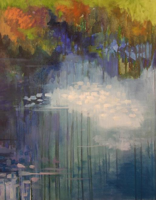 """Triptych Oil 22"""" x 28"""""""