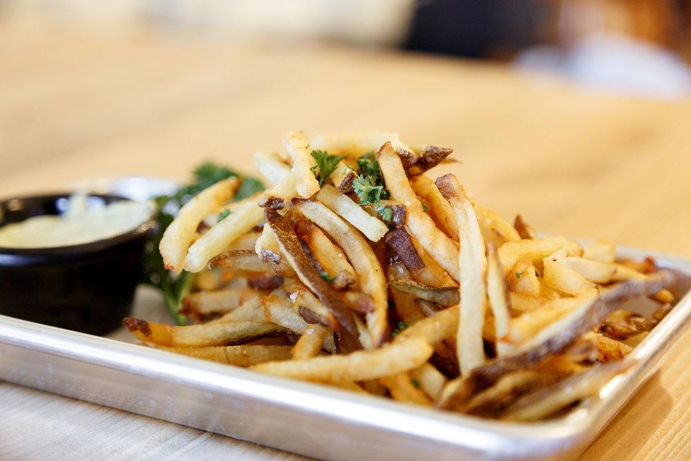 Range Fries (Gluten-Free) - Backbone Cafe